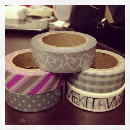 The ever-reliable washi tapes from Paper Chic Studio