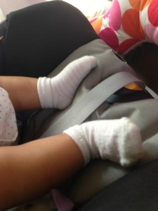 St. Patrick Baby Socks