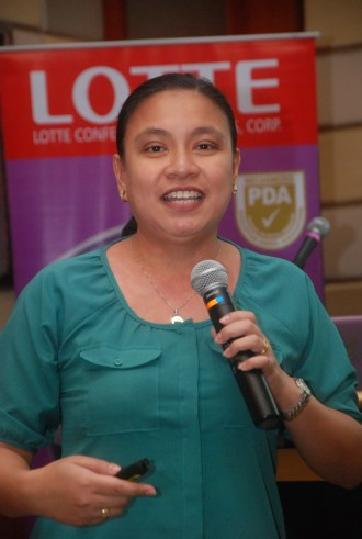 Therese Reyes, Marketing Manager of Lotte