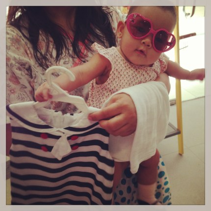 Zeeka's Shopping Spree at Ines Moda Infantil