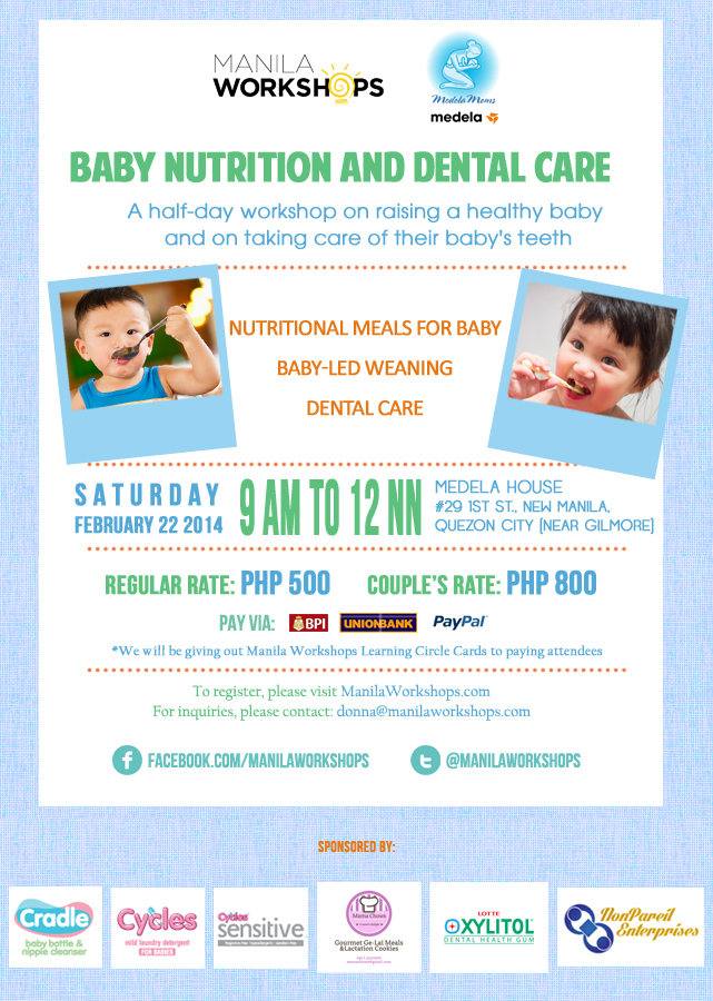 Baby Nutrition and Dental Care