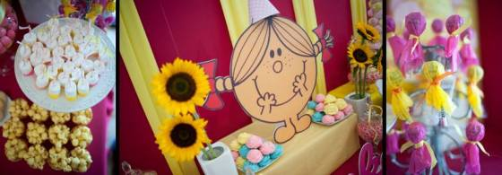 Little Miss Sunshine Candy Buffet