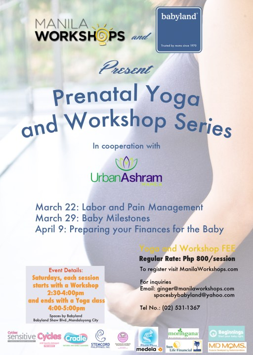 Prenatal Yoga Class plus Workshop