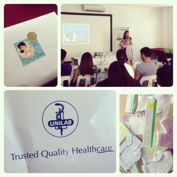 Unilab, Mommy Treats and St. Patrick! Brands we trust and love! With Dra. Pat Kho our Speaker