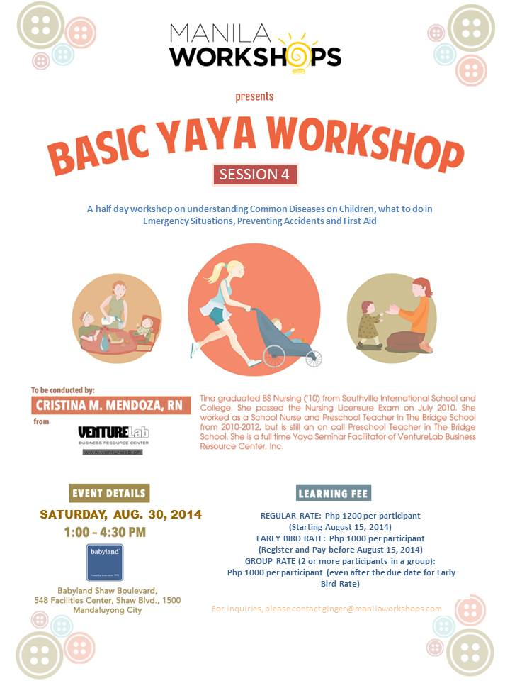 Basic Yaya Training Session 4