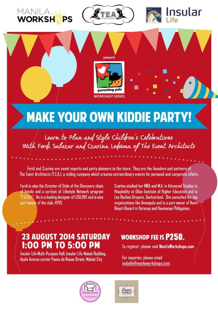 Make Your Own Kiddie Party