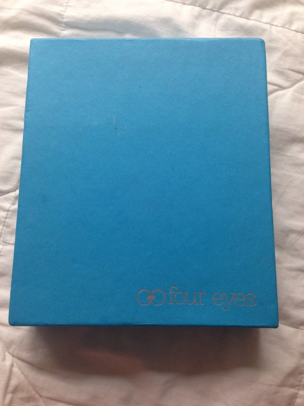 Four Eyes Glasses came in a sleek box