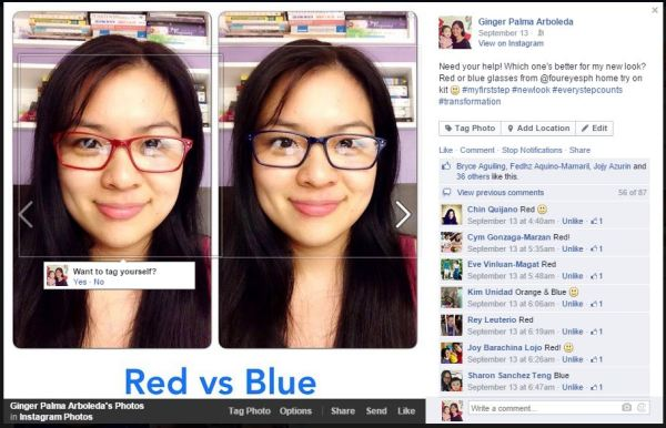 My own eyeglasses poll!