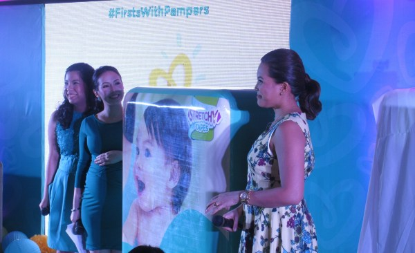 Unveiling of Pampers Baby Dry