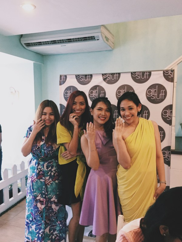 The four Girl Stuff Blogger Ambassadors