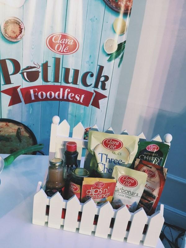 Clara Ole Potluck Food fest