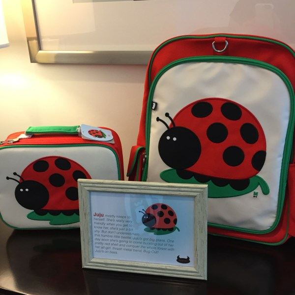 Zeeka got one Lady Bug Lunchbox
