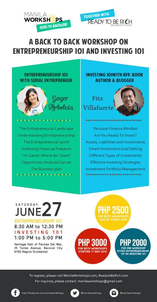 Bacolod Workshop