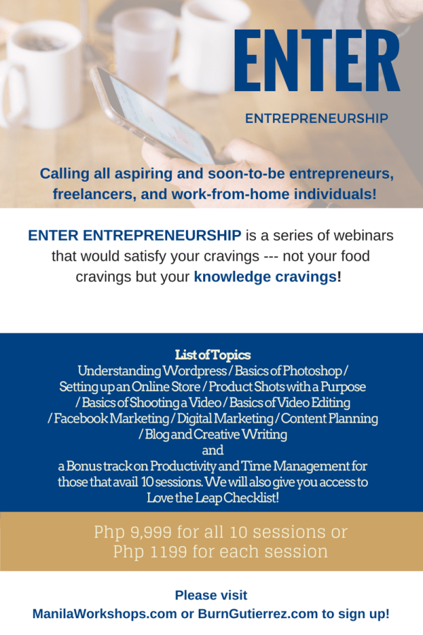 Enter Entrepreneurship