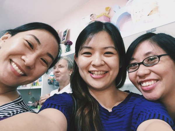 Your truly with some Martine De Luna and Tina Rodriguez #WAHMs