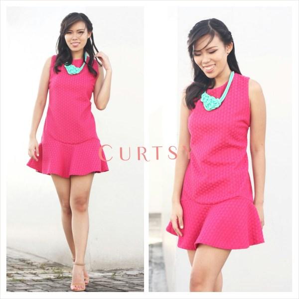 Curtsy Pink Dress