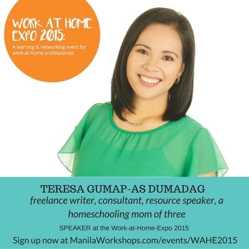 Speaker Teaser - Teresa Dumadag