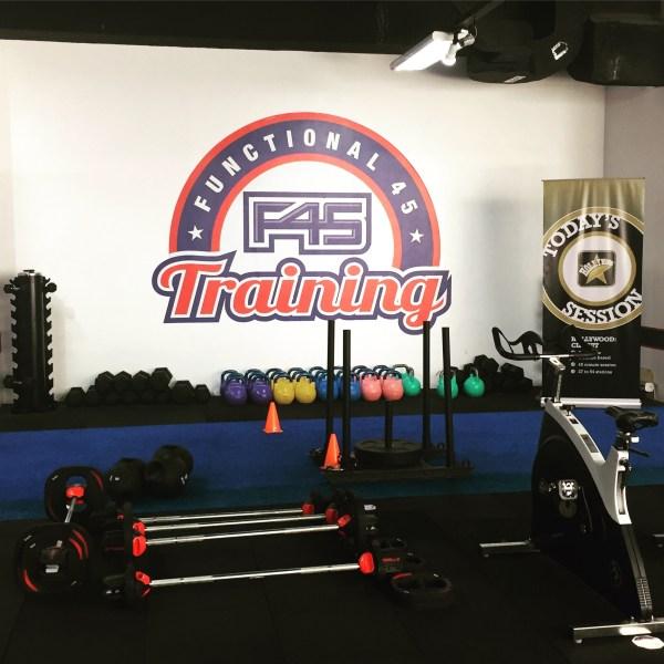 F45 Training at BGC Stopover