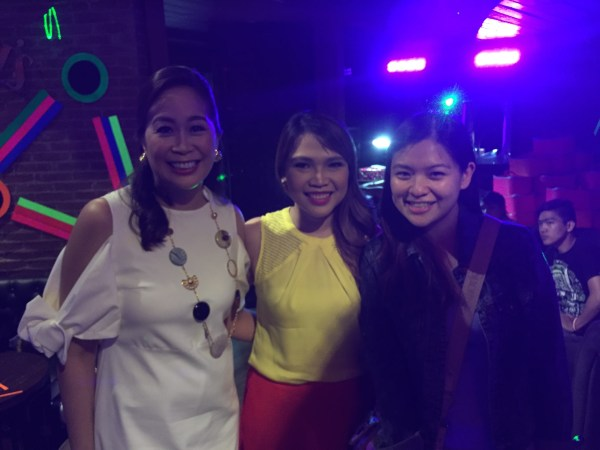 Yours Truly (Ginger) with Dr. Janina Gutierrez-Tan, and blogger friend, Nikki Tiu.