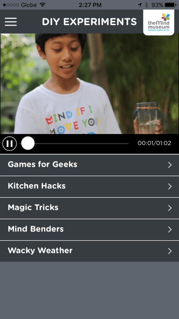 The Mind Museum App 1