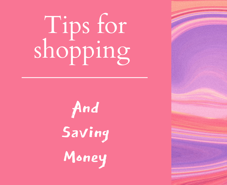 tips for shopping and saving money