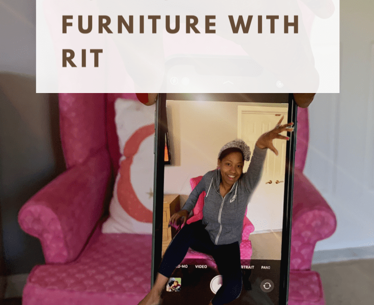 how to diy dye furniture with rit