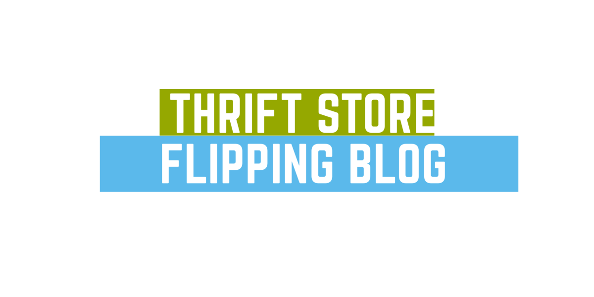 Thrift store flipping blog