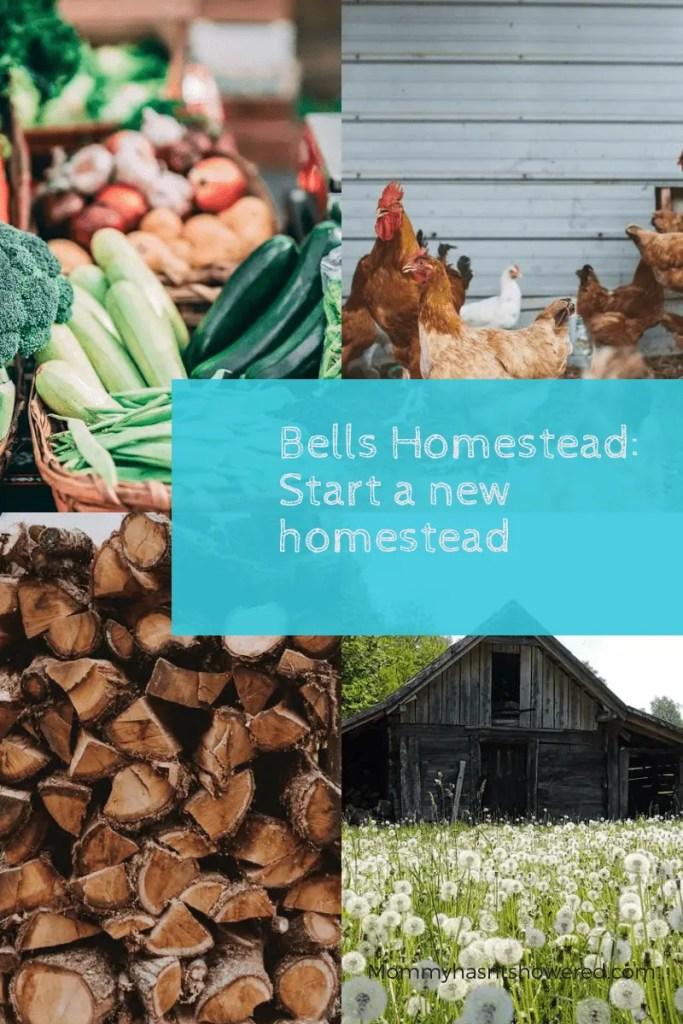 bells homestead start a new homestead