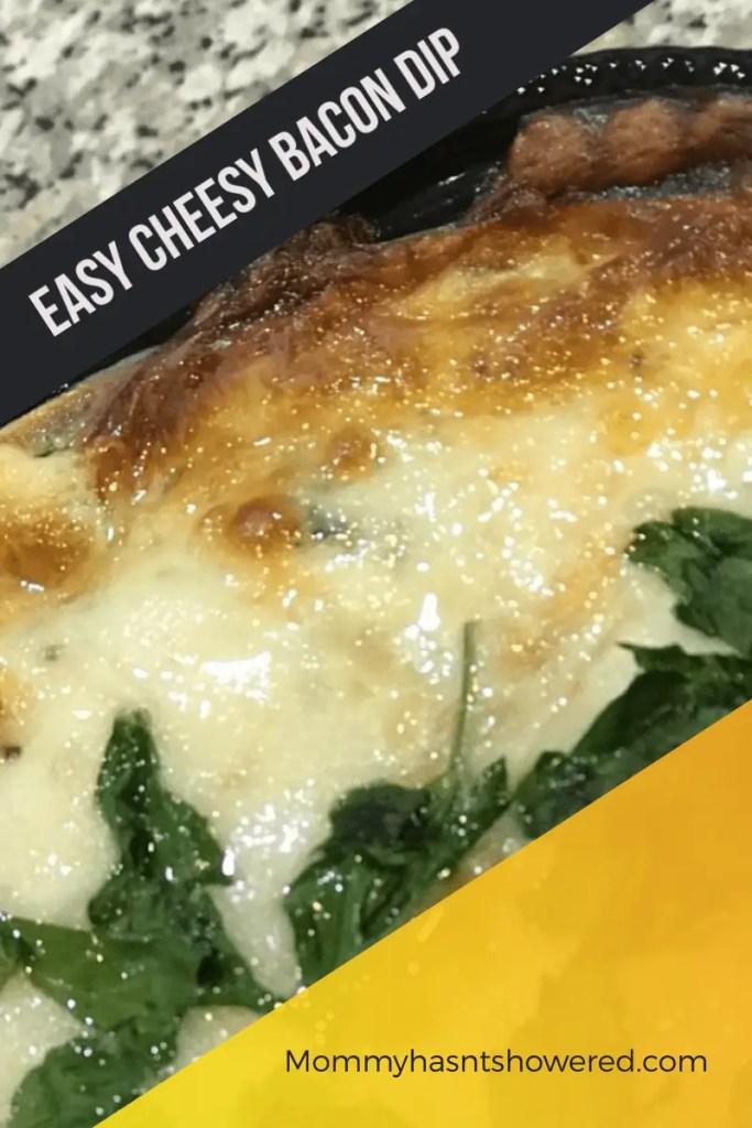 Easy Cheesy Bacon Dip