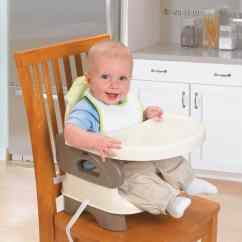 Portable High Chair Booster Antique Leather Summer Infant Deluxe Comfort 5 Good Seats