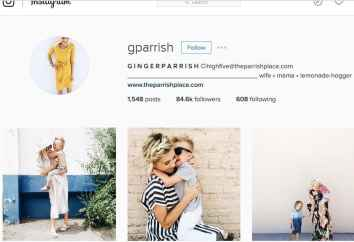 Ginger Parrish Social Media