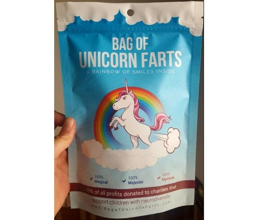 Bag of Unicorn Farts Elephant Gag Gift