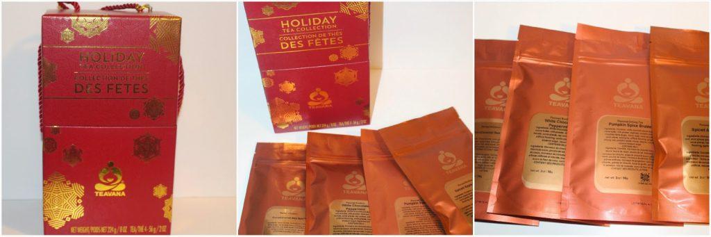 Teavana Holiday Tea Collection ~ Holiday Favorites Gift Set ...