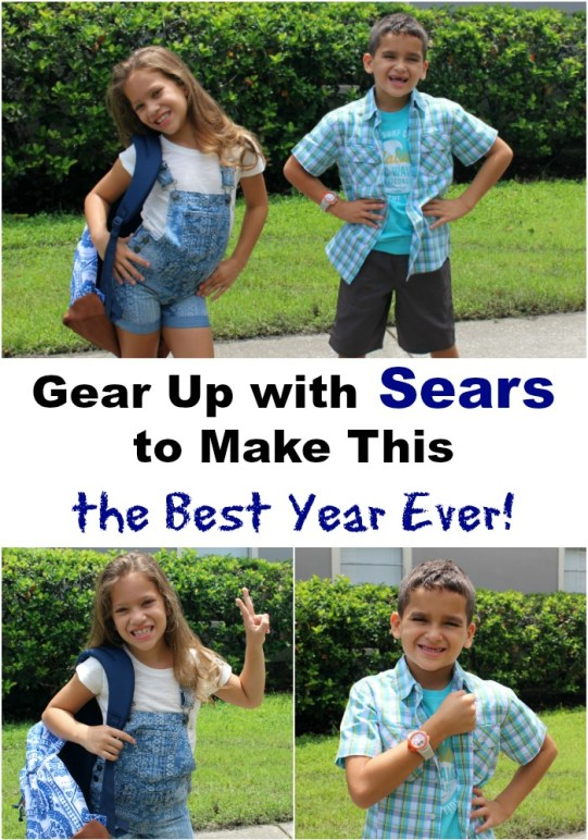 Gear Up at Sears to Make This the Best Year Ever!