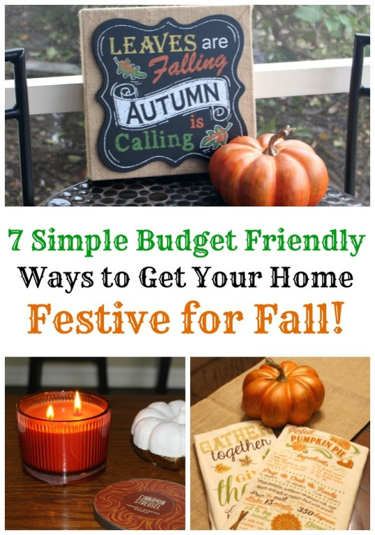 7 Simple and Affordable Ways to Get Your Home Festive for Fall