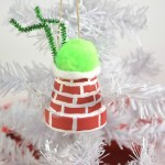 The Grinch Chimney Diy Ornament Idea Christmas Craft