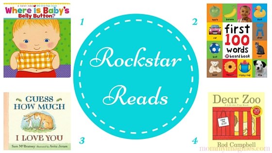 Rockstar Reads for 1 Year Old Boys