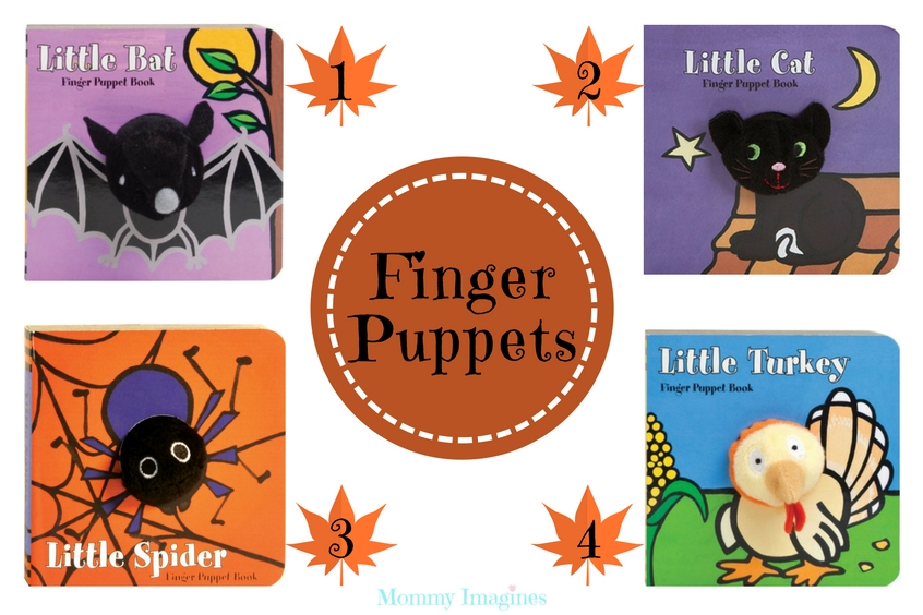 Finger Puppet Books for Toddlers