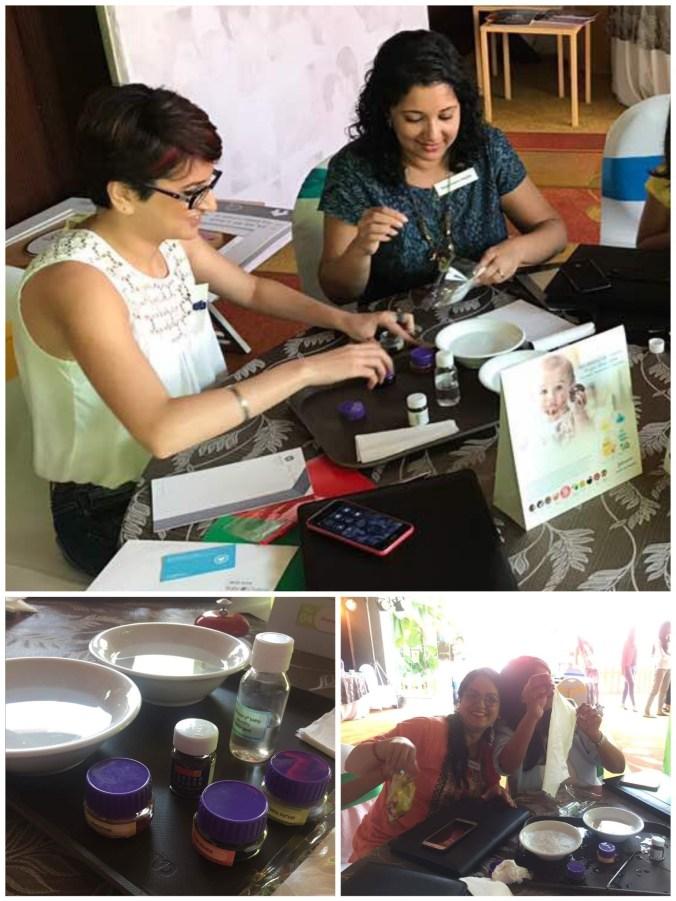 Johnson's Baby best for baby laundry detergent, mom bloggers mumbai, Johnsons best for baby, babychakra mom influencer event Mumbai