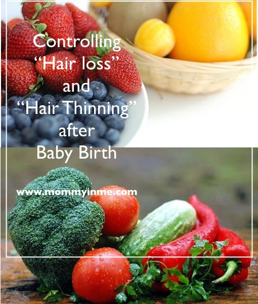 How to stop hair loss after baby birth