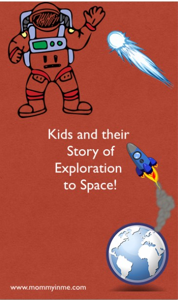 Kids Story to Space