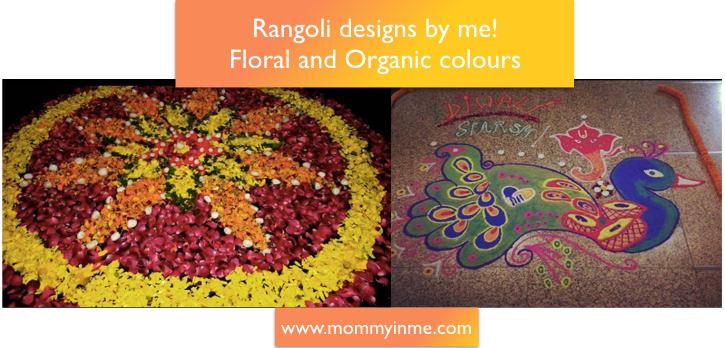 Diwali Floral Rangoli Design