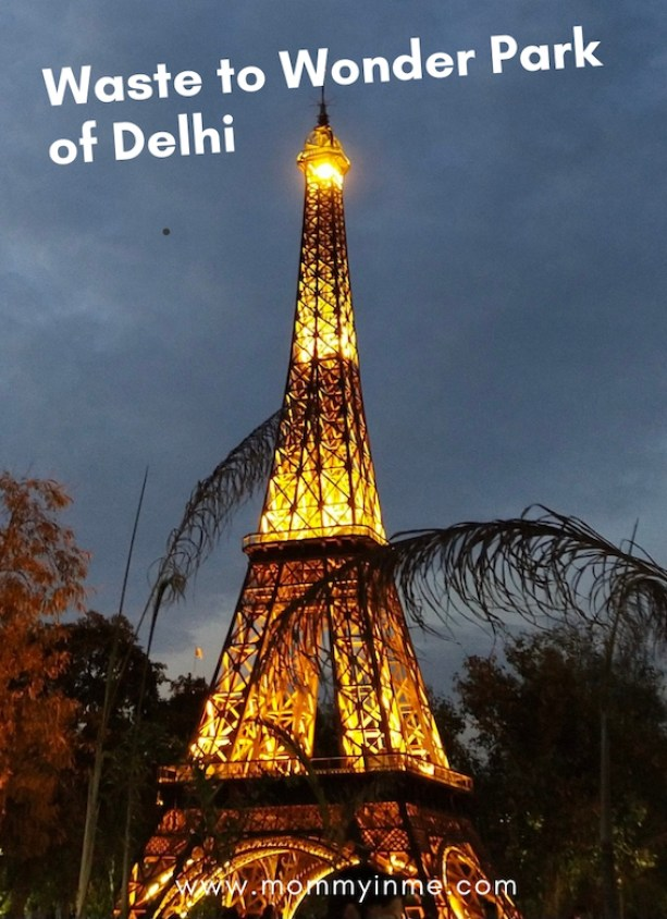 The newly opened Waste to Wonder park in Delhi, which has seven wonders of the world , in Rajiv gandhi Smriti Van, at Hazrat Nizammudin, made out of Industrial scrap is a craze recently. #wastetowonder #sevenwonders #delhipark #SmritiVan #rome #colosseum #Eiffel Tower #scrap #artist #Leaningtower #Pisa #TajMahal #StatueofLiberty #PyramidofGiza #ChristtheRedeemer #mustvisitplacesofDelhi #delhigram #indiagram