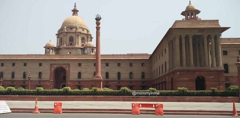 President's House : Visit to Rashtrapati Bhavan
