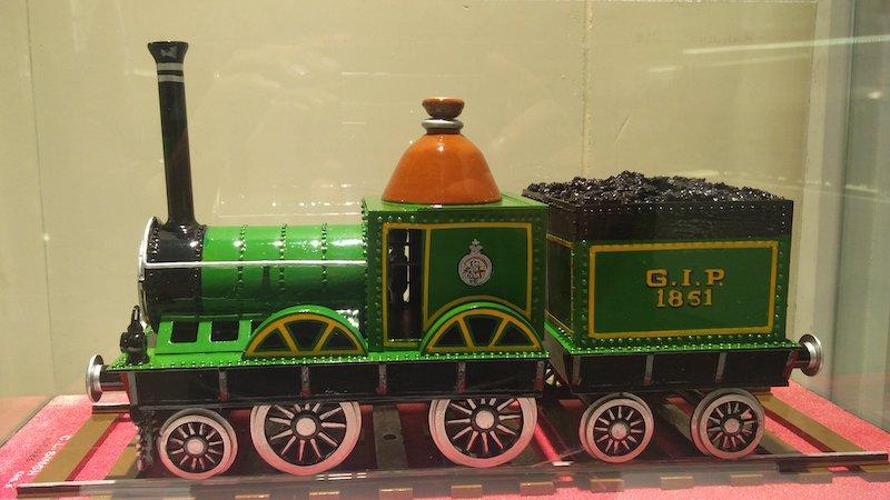 Trip to Rail Museum Delhi