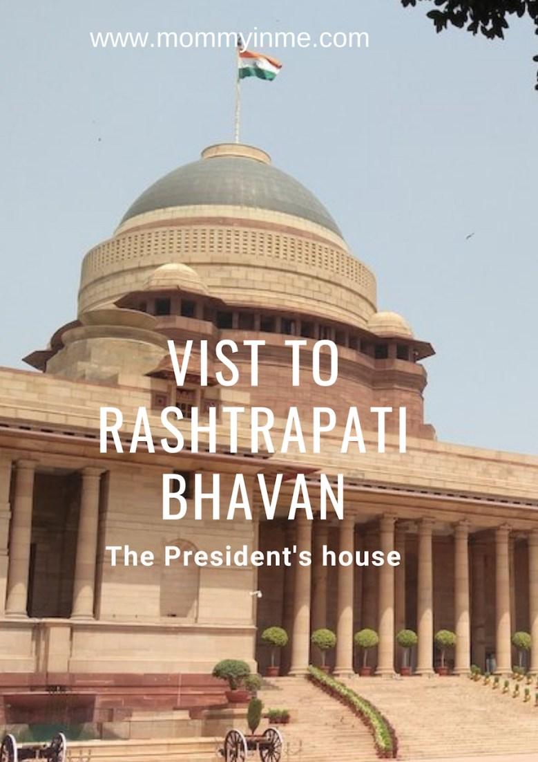 Can we visit Rashtrapati Bhavan , The President's house in Delhi? #Presidenthouse #rashtrapatibhavan #sodelhi #delhigram