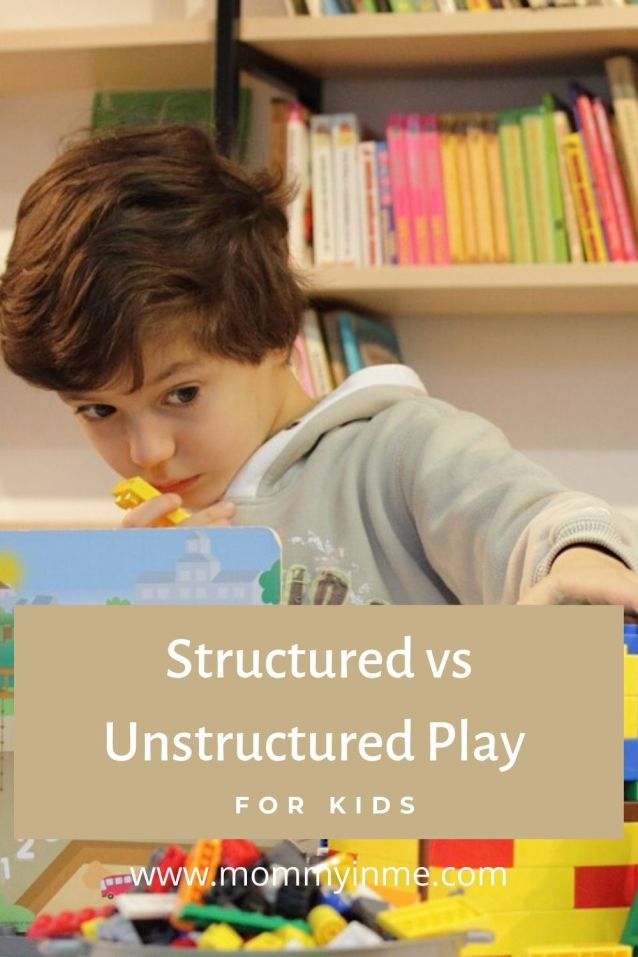 With kids indoors, are they getting enough time for both structured and free play? Here is a detailed post on structured vs unstructured play activities. #fun #freeplay #unstructuredplay #structuredactivities #blogchatterA2Z