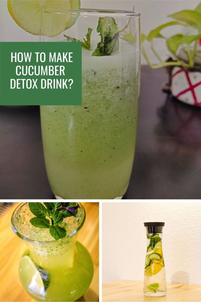 How to make Cucumber-Lemon-Mint water / juice? 3 ways to make Cucumber based detox drinks for your overall wellness #detoxdrink #cucumberdrink #cucumberwater #cucumberjuice #weightloss #skincare #myfriendalexa
