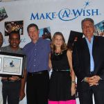 Sun Sports Honored for Work with Make A Wish