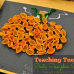Teaching Tuesday: Pasta Pumpkin Project